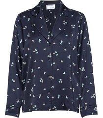 emme pyjamas shirt blus långärmad blå designers, remix