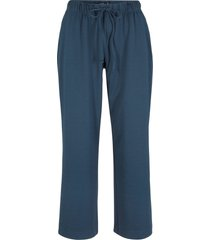 pantaloni cropped con elastico (blu) - bpc bonprix collection