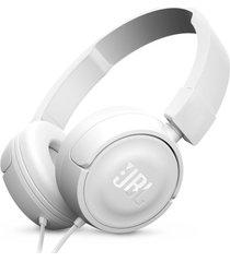 audifonos jbl t450 alambrico on ear blanco