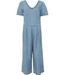 tuta culotte in jeans con tencel™ lyocell (blu) - rainbow