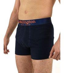 boxer azul wellington polo club mulan
