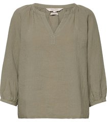 hikmapw bl blouse lange mouwen groen part two
