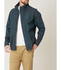 gloverall indigo camo moto jacket ms5145cam