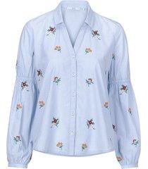 blus embro blouse