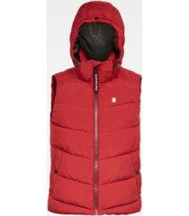 g-star raw men's whistler hooded vest