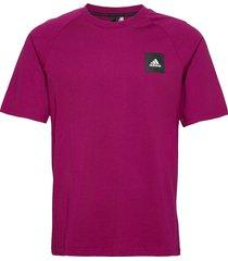 mhe tee sta t-shirts short-sleeved lila adidas performance