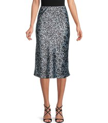 love ady women's printed skirt - size l