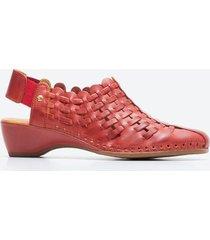 zapato casual mujer pikolinos z024 rojo