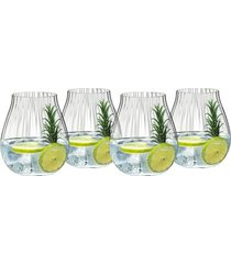 conjunto de 4 copos optical o para gin 762ml riedel