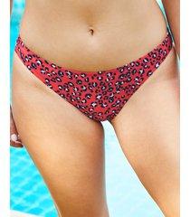 mala classic leopard print bikini bottom