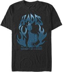 fifth sun men's hades flames short sleeve crew t-shirt