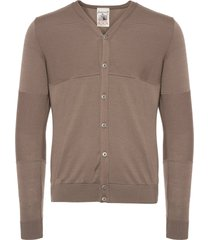 s.n.s herning clay grey exit cardigan 381-u9430