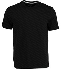 armani exchange t-shirt zwart modern fit 3hztfc.zjh4z/6246