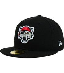 new era erie seawolves milb 59fifty cap