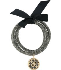 guess 3-pc. set crystal bangle bracelets