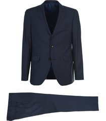 etro single-breasted wool suit