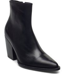 booties 5180 shoes boots ankle boots ankle boot - heel svart billi bi