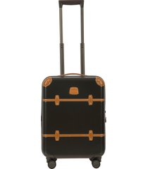 bric's bellagio 2.0 21-inch rolling carry-on - green
