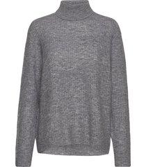 5212 - marta stickad tröja grå sand