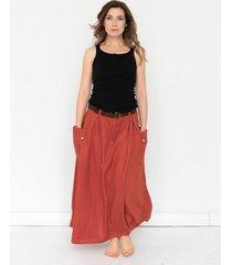 spódnica melody w kolorze flamenco