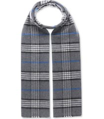 v. fraas men's classic plaid reversible scarf