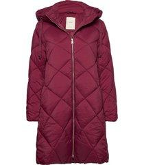 coats woven fodrad rock röd esprit casual