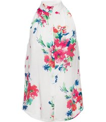 boutique moschino blouse blouse mouwloos wit boutique moschino