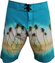 bermuda tecido alkary praia azul