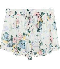 alessandra rich floral print shorts