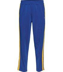 ru glamis-striped trck pant sweatpants mjukisbyxor blå russell athletic
