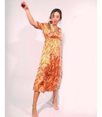 vestido amarillo prussia lynn