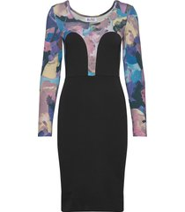 mickey tube dress kort klänning svart r/h studio