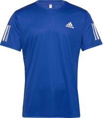 3-stripes club tee t-shirts short-sleeved blå adidas performance