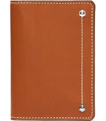 'hex' leather card case