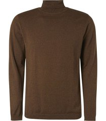 no excess pullover turtleneck bronze