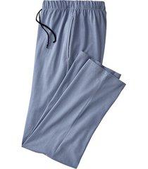 pyjamabroek, staalblauw s