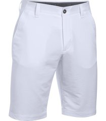 pantaloneta para hombre under armour-blanco