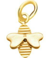ciondolo ape in oro giallo per donna