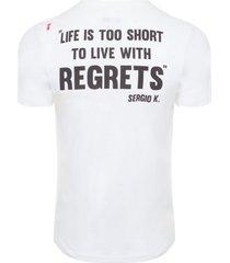 camiseta masculina collecti - off white