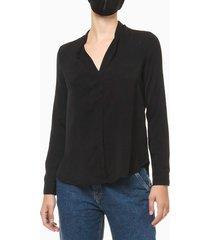 camisa feminina preta - 36
