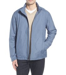 men's big & tall cutter & buck panoramic packable jacket, size 3xb - blue