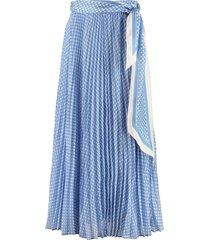 zimmermann sunray printed pleated skirt