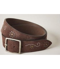sundance catalog women's sienna hillsides belt in dark brown medium