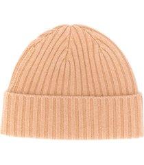 n.peal chunky knit beanie - neutrals