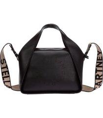 borsa donna a mano tracolla medium tote bag stella logo