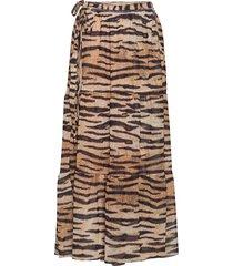jeovanna knälång kjol brun baum und pferdgarten