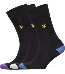 porter underwear socks regular socks svart lyle & scott
