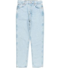 light blue 50s cigarette jeans
