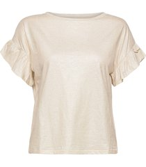 day permanent t-shirts & tops short-sleeved creme day birger et mikkelsen