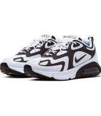 9-zapatillas de hombre nike air max 200-blanco
